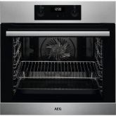 AEG BES255011M Built In Electric Single Oven Stainless Steel