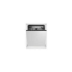 Beko DIN15C20 Integrated Dishwasher - Stainless Steel
